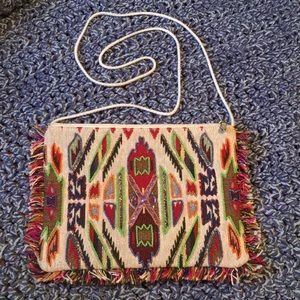 Handbags - boho Mexican Aztec gypsy handmade cross body bag